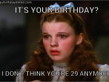 Big Girl Birthday Meme Not Anymore Dorothy Wizard Of Oz Pinterest