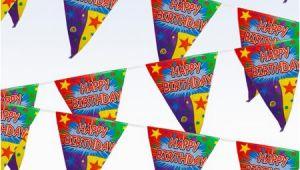 Big W Happy Birthday Banner 12 39 Quot Happy Birthday Quot Pennant Banner Walmart Com