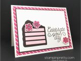 Biggest Birthday Card This Birthday Card is A Piece Of Cake Stampin 39 Pretty