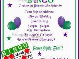 Bingo Birthday Invitations 17 Best Images About Party Bingo On Pinterest Bingo
