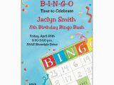 Bingo Birthday Invitations Bingo Birthday Invitations Paperstyle