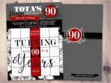 Bingo Birthday Invitations Bingo Card Birthday Invitation Surprise Party 30th 40th