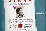 Bingo Birthday Invitations Bingo Milestone Surprise Party Invite This Kid 39 S Eight