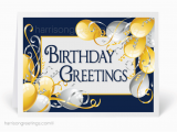 Birthday and Anniversary Cards for Business Business Happy Birthday Cards 3874 Harrison Greetings