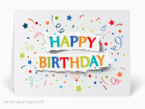 Birthday and Anniversary Cards for Business Happy Birthday Cards for Business 39092 Custom
