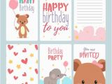 Birthday Announcement Cards 17 Birthday Card Templates Free Psd Eps Document