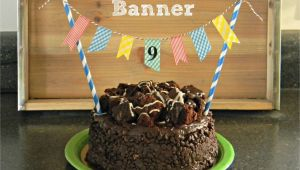 Birthday Banner On Cake Birthday Cake Banner organize and Decorate Everything