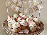 Birthday Banner On Cake Printable Birthday Banner Cake topper