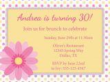 Birthday Brunch Invitation Wording Samples Birthday Lunch Invitation