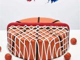 Birthday Cake Decorating Kits Basketball themed Diy Fondant Birthday Cake Decorating Kit