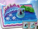 Birthday Cake Decorating Kits Frozen Anna and Elsa Cake Decorating Kit toppper Disney