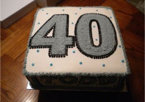 Birthday Cake Decorations For Men 40th Ideas