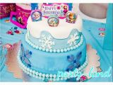 Birthday Cake Kits for Cake Decorating Disney Frozen Birthday Party Supplies Candles Cake