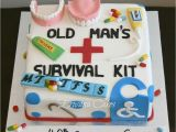 Birthday Cake Kits for Cake Decorating Old Age Survival Kit Cake Cakes and Cupcakes Pinterest