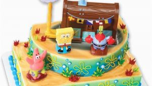 Birthday Cake Kits for Cake Decorating Spongebob Cake Decorating Kit topper Ebay