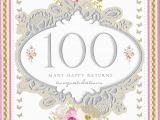Birthday Card 100 Years Old 100th Birthday Card 100 Year Old Birthday Card Mavraievie