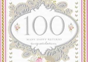 Birthday Card 100 Years Old 100th Year Mavraievie