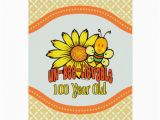 Birthday Card 100 Years Old 100th Birthday Unbelievable at 100 Years Old Card Zazzle