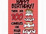 Birthday Card 100 Years Old Happy Birthday 100 Years Old Greeting Card Zazzle