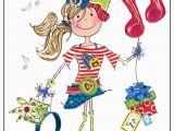 Birthday Card 11 Yr Old Girl Jonny Javelin Girl Age 11 Birthday Card Dot2dot Cards