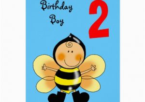 Birthday Card 2 Year Old Boy Greeting Zazzle