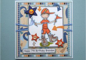 Birthday Card 7 Year Old Boy For Cards Pinterest