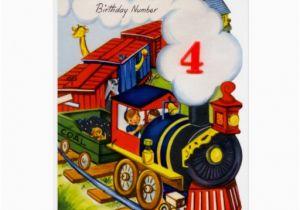 Birthday Card 7 Year Old Boy Happy 4 Greeting Cards Zazzle