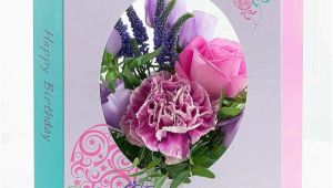 Birthday Card and Flowers Delivery Fresh Flowers In A Card Free Delivery Floralcard