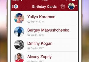 Birthday Card App For Facebook Cards Free Reminder To Remember