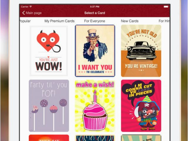 Birthday Card Apps For Facebook Cards Friends Family
