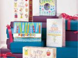Birthday Card Box Sets 48 Pc 12 Designs Boxed Birthday Greeting Cards Set 5 5 Quot X 4