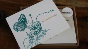 Birthday Card Box Sets Happy Birthday Card Box Set by Pressedco On Etsy