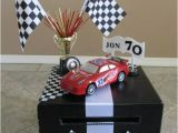 Birthday Card Boxes for Parties Nascar themed Birthday Card Money Box Custom Made