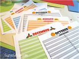 Birthday Card Calendar organizer Create Your Own Greeting Card organizer Free Download