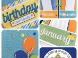 Birthday Card Calendar organizer Doodlebug Design Inc Blog Planner Love Daily Doodles