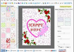 Birthday Card Creator Printable Free Cards Maker Software Design Birth Day