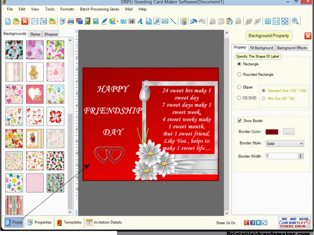 Download By SizeHandphone Tablet Desktop Original Size Back To Birthday Card Creator Printable Free