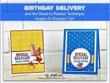 Birthday Card Delivery Service 490 Best My Stampin Up Cards by Sandi Maciver Images On