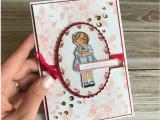Birthday Card Delivery Service Jessie Holton Aussie Su Demo Crazy Crafters Blog Hop