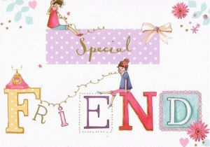 Birthday Card Delivery Uk Special Friend 2 95 Free