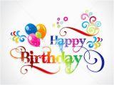 Birthday Card Designer Free Abtract Colorful Birthday Card Design Vector Illustration