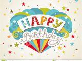 Birthday Card Designer Free Happy Birthday Greeting Card Stock Vector Illustration