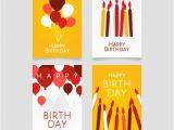 Birthday Card Designer Free Modern Birthday Card Designs Vector Free Download