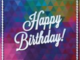 Birthday Card Designer Free Triangle Vector Birthday Card Design Vector Free Download