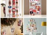 Birthday Card Display Ideas Iheart organizing Happy Holidays Christmas Card Display