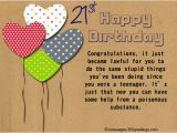 Birthday Card Emails 21st Birthday Wishes Messages and Greetings