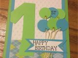 Birthday Card for 1 Year Old Boy One Year Old Little Boy Birthday Card Cards and