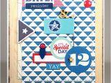 Birthday Card for 12 Year Old Boy Happy Birthday Card Nautical Birthday Card 12 Year Old