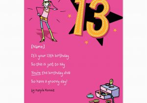 Birthday Card for 13 Year Old Girl 13 Year Old Birthday Card Quotes 10740483 Happy Birthday