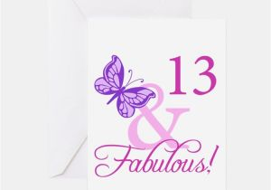 Birthday Card for 13 Year Old Girl 13th Birthday Party Greeting Cards Card Ideas Sayings